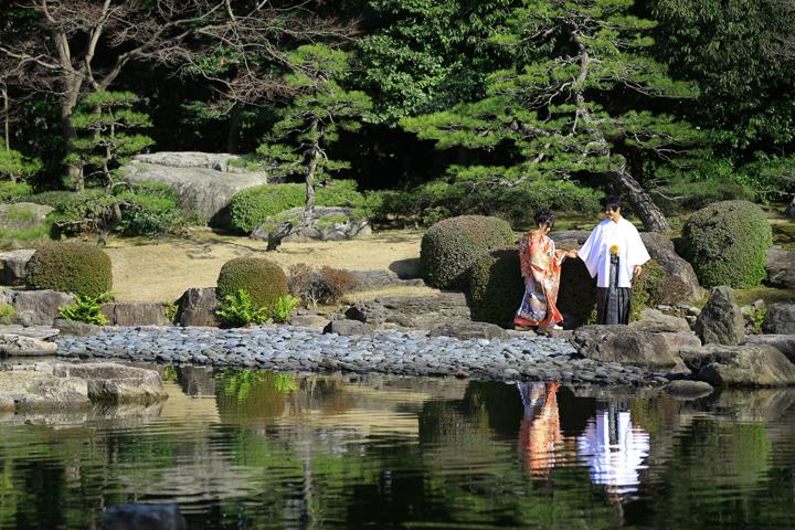 大濠公園の日本庭園