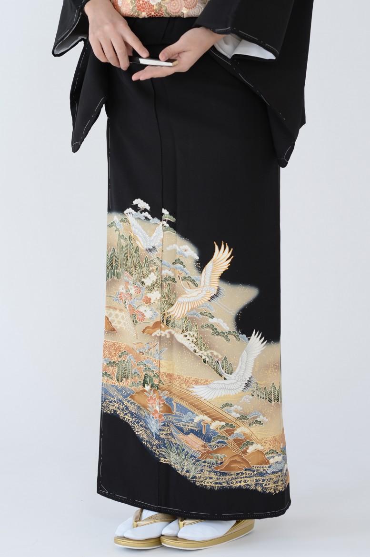 熊本黒留袖001