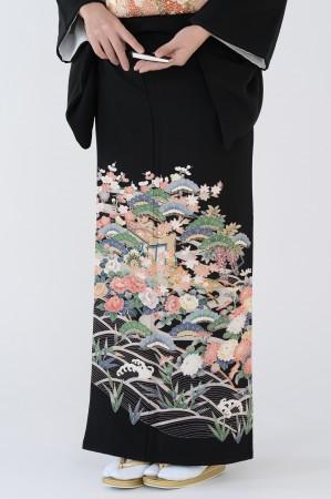 熊本黒留袖003