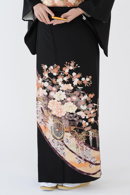 熊本黒留袖008