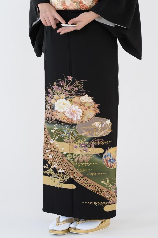 熊本黒留袖009