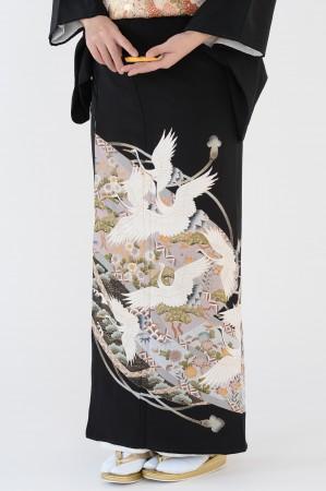 熊本黒留袖011