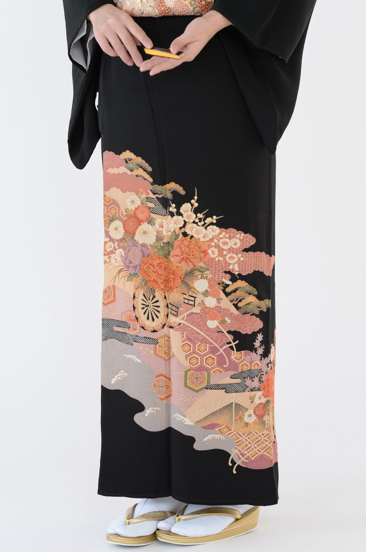 熊本黒留袖028