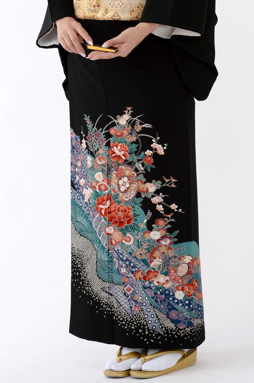 福岡黒留袖KT-046