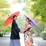 熊本,和装,洋装,前撮り,結婚式当日,,熊本城細川邸-001