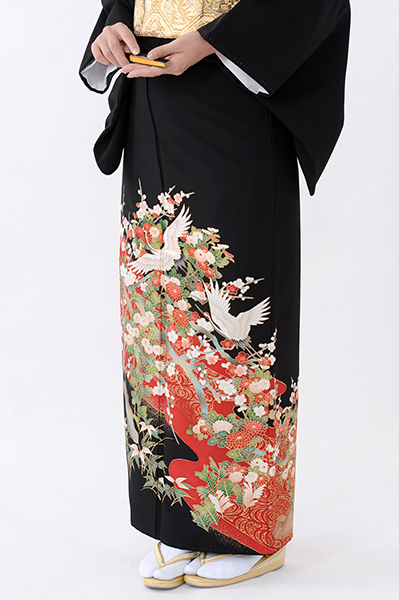 福岡黒留袖KT-063