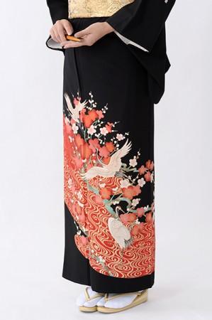 福岡黒留袖KT-072