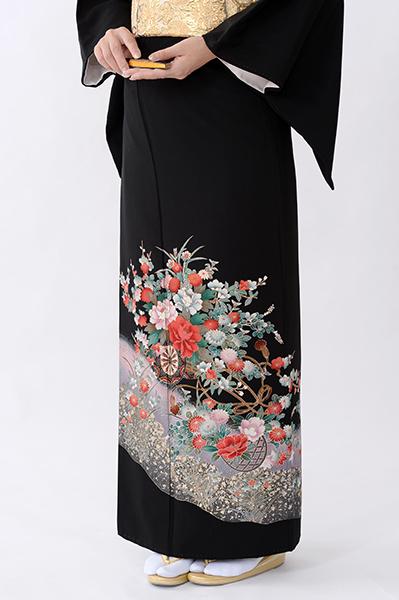 福岡黒留袖KT-076