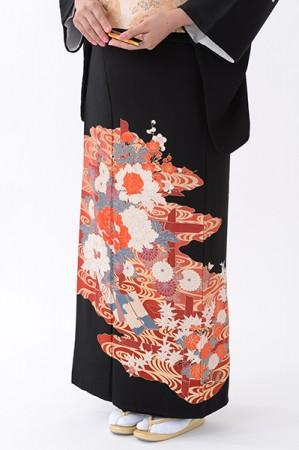 福岡黒留袖KT-080