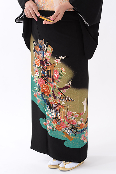 福岡黒留袖KT-082