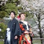 熊本,和装,洋装,前撮り,結婚式当日,,サクラ熊本城前撮りプラン-06