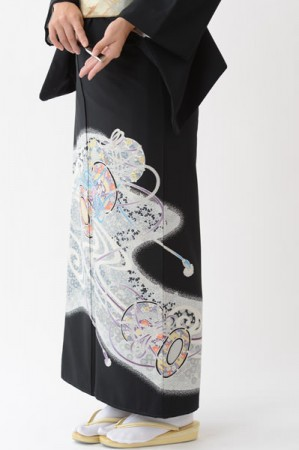 福岡黒留袖KT-003