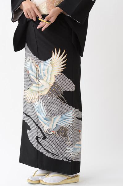 福岡黒留袖KT-009