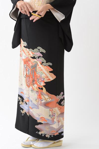 福岡黒留袖KT-013