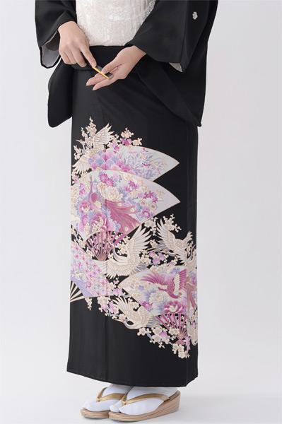 福岡黒留袖KT-017