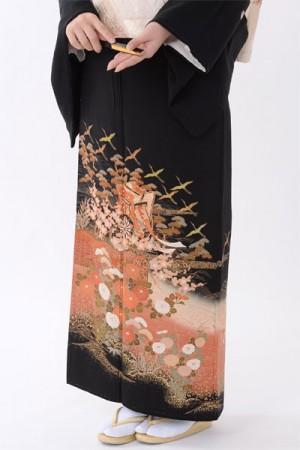 福岡黒留袖KT-021