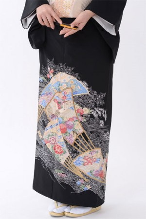 福岡黒留袖KT-022
