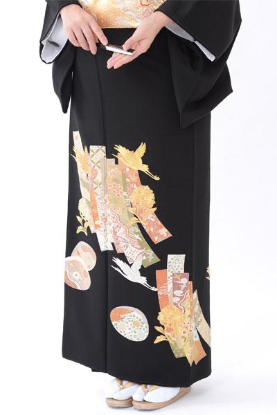 福岡黒留袖KT-026