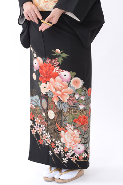 福岡黒留袖KT-028