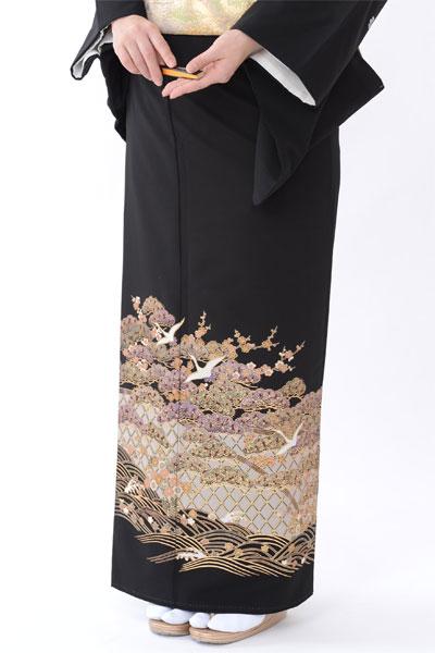 福岡黒留袖KT-032