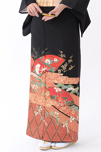 福岡黒留袖KT-048