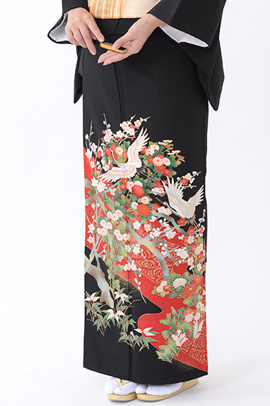福岡黒留袖KT-050