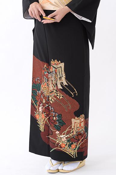 福岡黒留袖KT-054