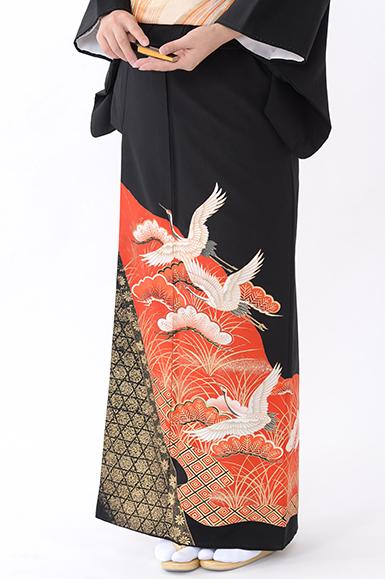 福岡黒留袖KT-056
