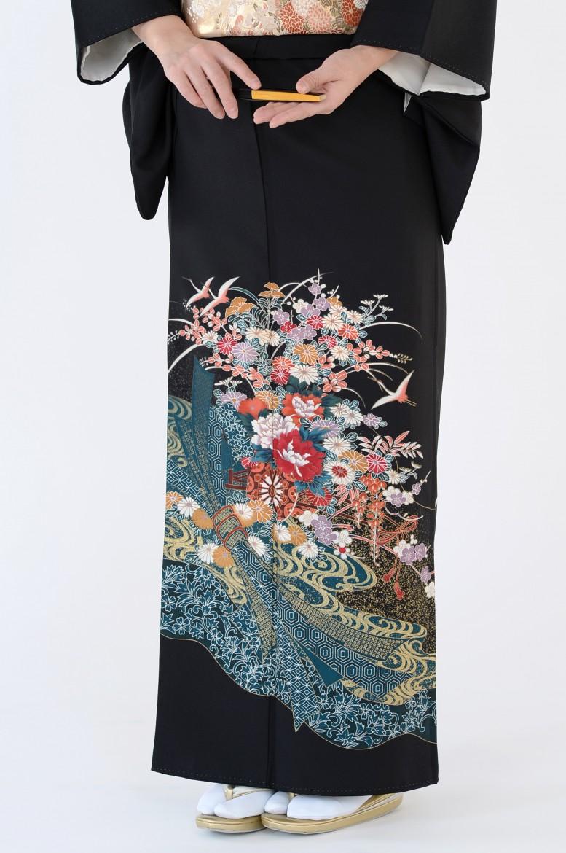 熊本黒留袖032