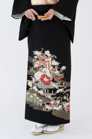 熊本黒留袖041