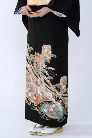 熊本黒留袖052