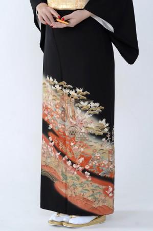 熊本黒留袖053