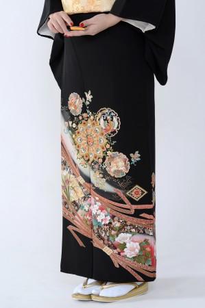 熊本黒留袖055