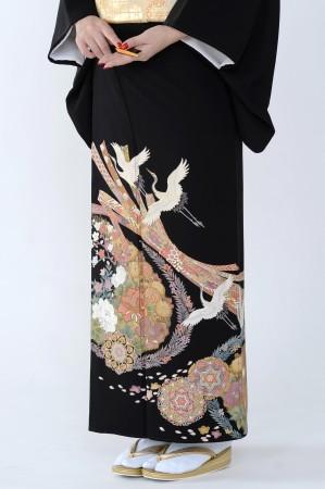 熊本黒留袖058