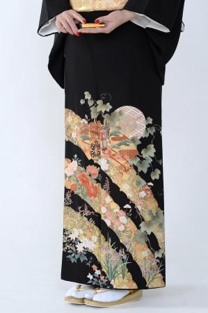 熊本黒留袖063