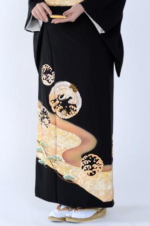 熊本黒留袖071
