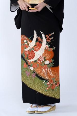 熊本黒留袖073
