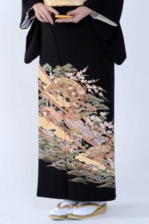 熊本黒留袖078