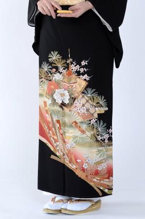 熊本黒留袖081