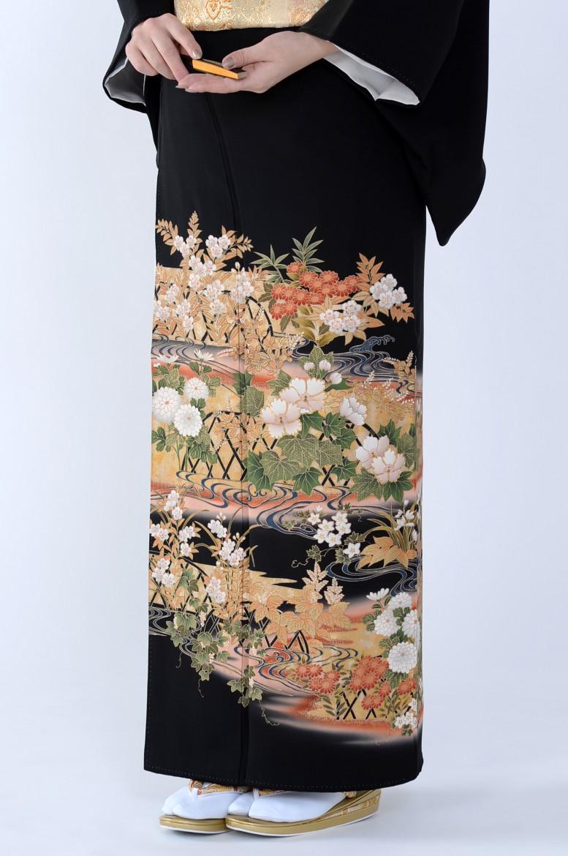 熊本黒留袖082