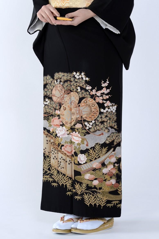 熊本黒留袖084