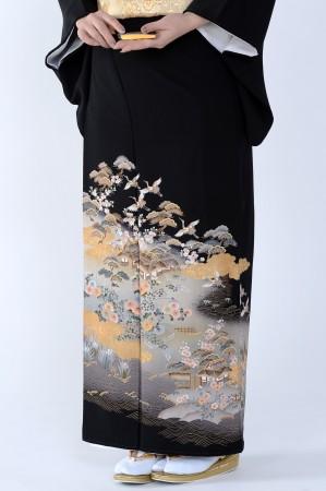 熊本黒留袖086