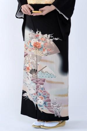 熊本黒留袖090