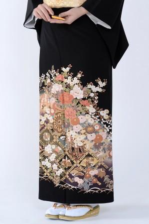 熊本黒留袖093