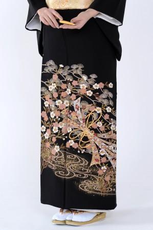 熊本黒留袖097