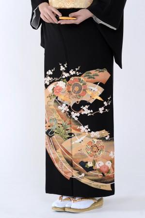 熊本黒留袖098