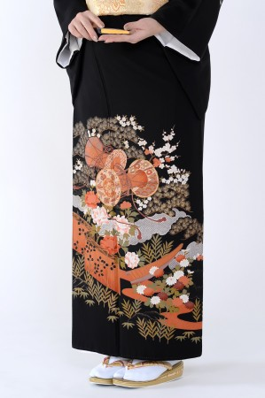 熊本黒留袖099