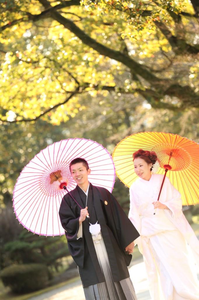 熊本 桜 前撮り 和装