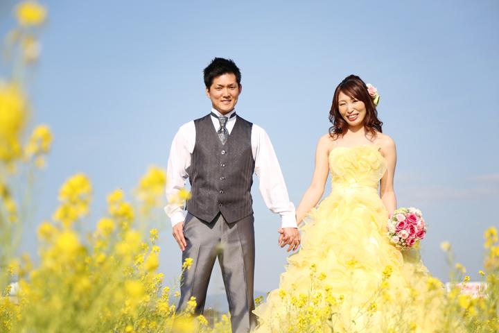 福岡 洋装 ドレス 前撮り