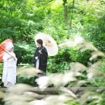 北九州・小倉城庭園結婚式前撮りプラン-小倉城・小倉城庭園